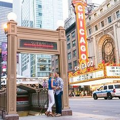 For some especially epic engagement photos, check out these Chicago locations!