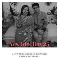 Yes, I do : Day 25 #blogchatterA2Z #myweddingdreamsbyurvashi - Damuru Creations