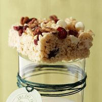 White Chocolate-Cranberry Crispy Treats