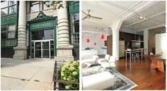 Own this Sweet 2 Bed Loft in the Historic Coca-Cola Building
