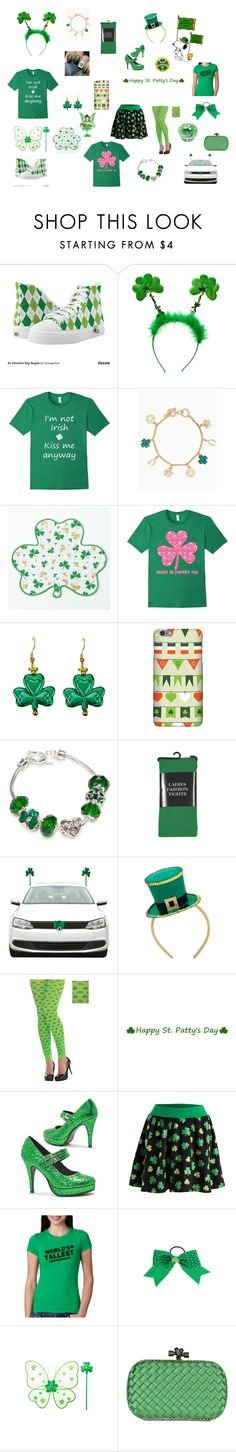 """St Patricks Day Party"" by shimmer-the-nerd ❤ liked on Polyvore featuring Napier, claire's and Bottega Veneta"