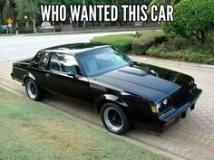 Muscle cars are a long-standing American tradition. Over the years, every major auto maker sought to grab a piece of this market. Here are some interesting facts about some great muscle cars. Buick Grand National Gnx, Modern Muscle Cars, Buick Cars, Gm Car, Buick Regal, Range Rover, Old Cars, Motor Car, Corvette