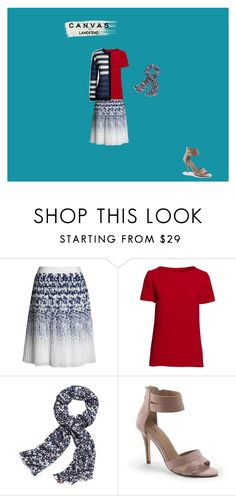"""""""Paint Your Look With Canvas by Lands' End: Contest Entry"""" by mantal ❤ liked on Polyvore featuring Canvas by Lands' End and Lands' End"""