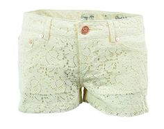 Indigo Rein Womens Juniors Lace Casual Shorts Pink Size 13