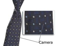 Necktie + Spy Camera