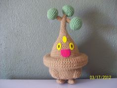 Kat's Creations: Bonsly Pokemon Crochet Amigurumi