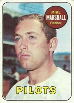 17 - Mike Marshall - Seattle Pilots