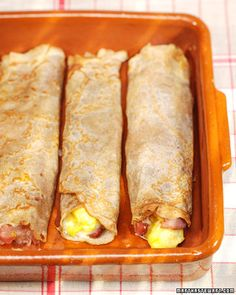 Buckwheat Crepes with Eggs, Ham, and Gruyere - Martha Stewart Recipes  I'm going to try without the ham!