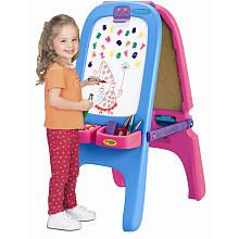 Crayola Magnetic DoubleSided Easel  Pink