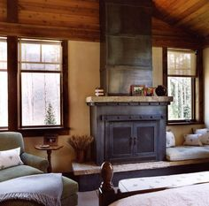 One Hundred Fireplace Design And Style Concepts For A Warm Property During Winter | 2014 interior design article