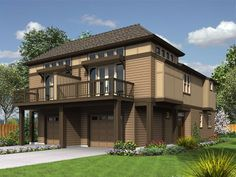 modern house plan contemporary duplex craftsman craftsman house plan family home plans modern craftsman home Duplex House Plans, Modern House Plans, Wood House Design, Home Design Floor Plans, Family House Plans, Modern Mansion, Wooden House, House In The Woods, Home Interior Design