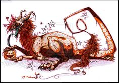 Halloween-Dragon-.:Halloween-dragon:. by dinoPharaoh