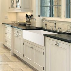 Kitchen Remodel Discover HOUZER Platus Farmhouse Apron Front Fireclay 36 in. Single Bowl Kitchen Sink in White with Dual-Mounting WH - The Home Depot Kitchen Decor Inspiration, Kitchen Cabinets, Modern Kitchen, Kitchen Remodel Small, Kitchen Renovation Cost, Farmhouse Kitchen Design, Farmhouse Apron Kitchen Sinks, New Kitchen Cabinets, Kitchen Design