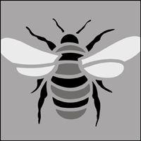 The Bee Solo stencil - price £15.95