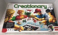 Lego Creationary Board Game 3844  Complete Creative Building Family Game     eBay
