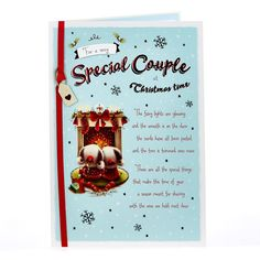 Christmas Card - To A Very Special Couple | Card Factory