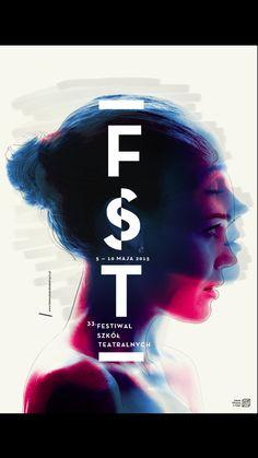 FST festival poster by Krzysztof Iwanski