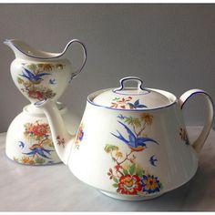 Vintage Teapot Set Made In England