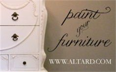 How To Guides | Altar'd: Custom Hand Painted & Refinished Furniture and Vintage Home Décor