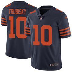 df87968ce99 Nike Bears #10 Mitchell Trubisky Navy Blue Alternate Men's Stitched NFL  Vapor Untouchable Limited Jersey. Draft GamesMike GlennonLeonard ...