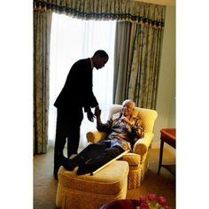 Our hero, our Madiba   Barack Obama meets Nelson Mandela