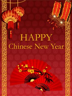 12 best chinese new year cards in 2018 images on pinterest chinese send free chinese new year fan card to loved ones on birthday greeting cards by davia m4hsunfo
