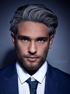 Hairstyles For Men With Grey Hair Ideas
