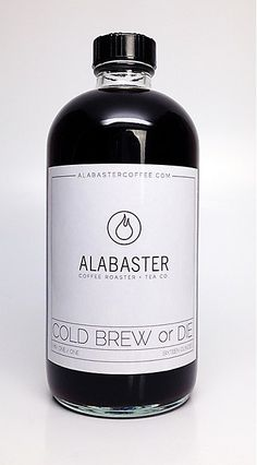 Alabaster Coffee packaging