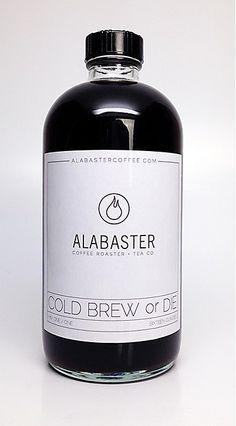 Alabaster Coffee packaging