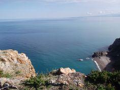 Sicily: Gioiosa Marea's Bue beach from #Capo Calavà