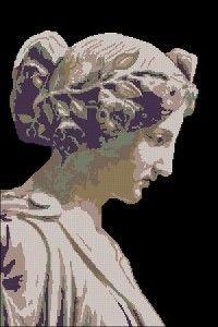 "Free Cross-stitch Pattern ""Ancient Greece"" | Cross-Stitch Club"