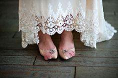 vintage wedding style wedding photography wedding shoes