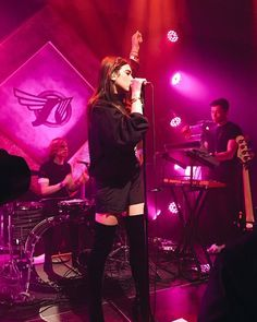 """DUA LIPA on Instagram: """"#EurosonicFestival again you were a DREAM!! Thank you for such a lovely evening!  #ESNS16 My leg reflection on the bass drum looks like Will's legs """""""