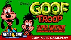 Goof Troop (SNes) Complete Gameplay #viciogame  http://www.youtube.com/watch?v=hxWcCvxuT_4