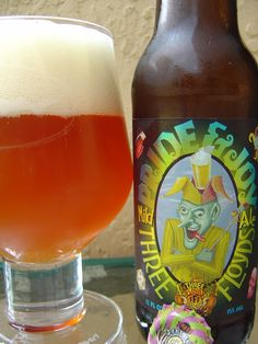 Pride and Joy--excellent summer beer from Three Floyds. Just a bit hoppy enough, but won't knock you over.