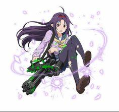 Yuuki... Ermahgerd, Heavy machine gun!!!