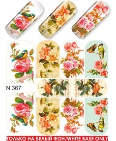 Milv siirtokuva N367 1,80€ Nail Wraps, Cute Drawings, Floral Tie, Nails, Decal, Plants, Beautiful Drawings, Finger Nails, Ongles