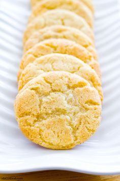 The perfect snickerdoodle recipe! Chewy, soft, and full of cinnamon! | www.alattefood.com