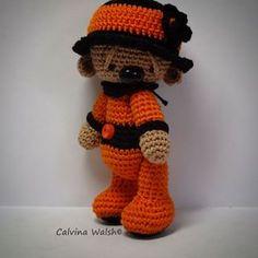 ༺༺༺♥Elles♥Heart♥Loves♥༺༺༺ ........♥Crochet Amigurumi♥........ #Amigurumi #Patterns #Crochet #Softies #Childrens #Toys #Handmade #Teddy #Doll #Tutorial #Patterns #Collectable~ ♥Beautiful Crochet By Calvina Walsh Hallie