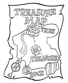 pirate island picture, treasure island coloring page #vbs ...