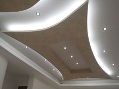 New ideas for false ceiling designs for living room and hall with best ceiling lighting ideas, how to choose suitable false ceiling design 2019 for your living room or halls, living room ceiling designs 2019 for any interior living room style Gypsum Ceiling Design, Interior Ceiling Design, House Ceiling Design, Ceiling Design Living Room, Bedroom False Ceiling Design, Living Room Designs, Latest False Ceiling Designs, Plafond Design, Wooden Ceilings