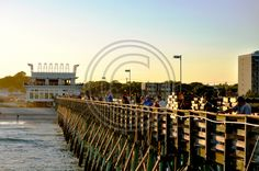 Myrtle Beach - fishing on 2nd ave pier - This and thousands of other high quality royalty-free digital photos are available for download from Refocus Photography - www.refocusphotography.com for only $5.00!
