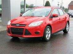 new 2014 ford focus se sedan red car charleston - Ford Focus 2014 Sedan Red