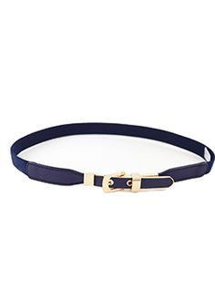 Valencia Thin Gold Buckle Belt