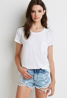 The basic tee and lovely | Forever 21 - 2000076965
