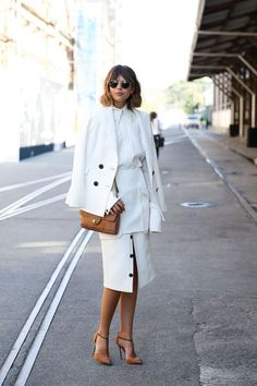 How To Wear A Skirt in Winter | StyleCaster