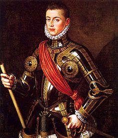 D. Juan de Austria. Hermanastro de Felipe II y militar vencedor en la Batalla de Lepanto.