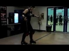 The easiest way to master your transitions without lifting either foot off the floor shown by Skate Britain's JenniFEAR - http://www.skatebritain.net