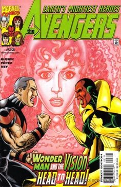 Wonder Man vs Vision ... the prize Scarlet Witch - AVENGERS °°