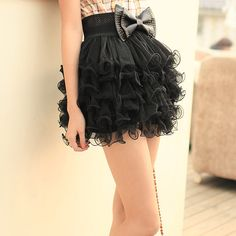 cute+styles+for+clothes   Cute Korean Fashion Style Skirts Wholesale D2758 Black - Wholesale ...